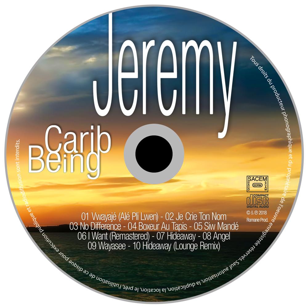 Jeremy - Album Carib Being - Visuel Galette