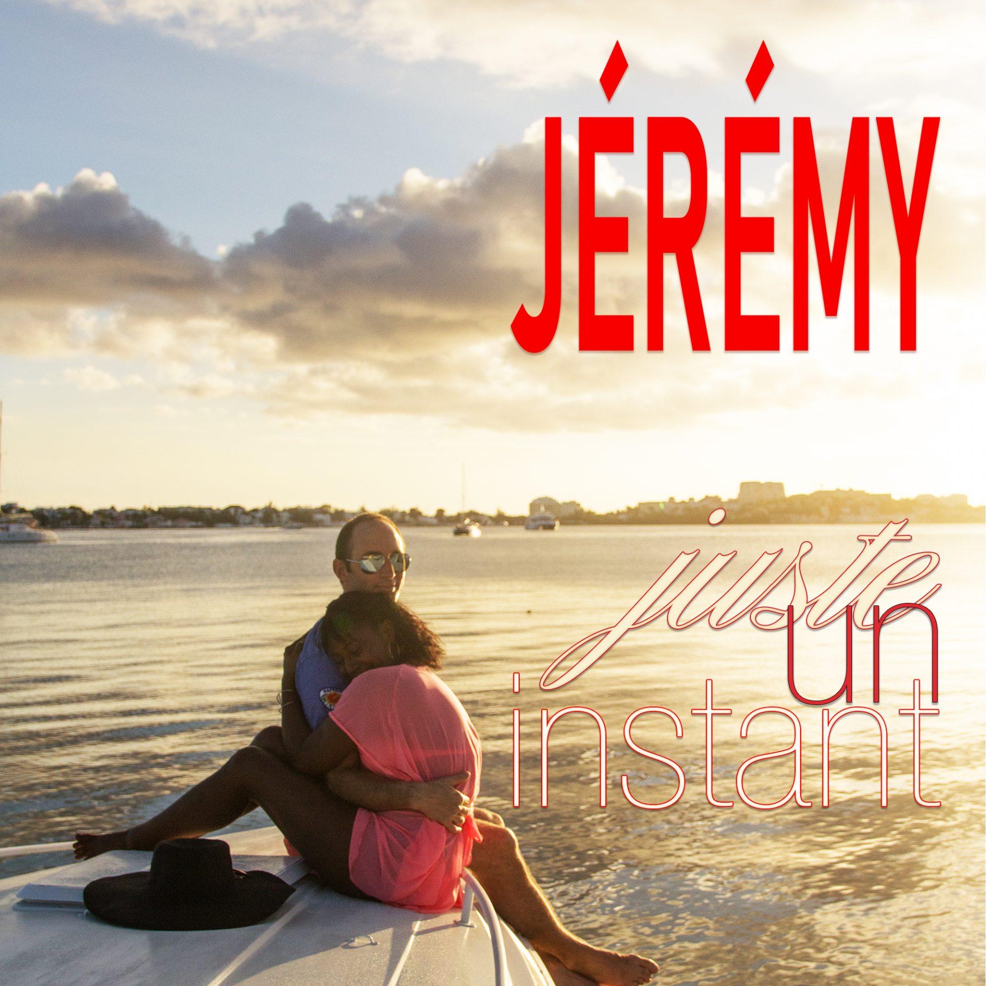 """Jeremy - Visuel """"Juste Un Instant"""" - Carré"""
