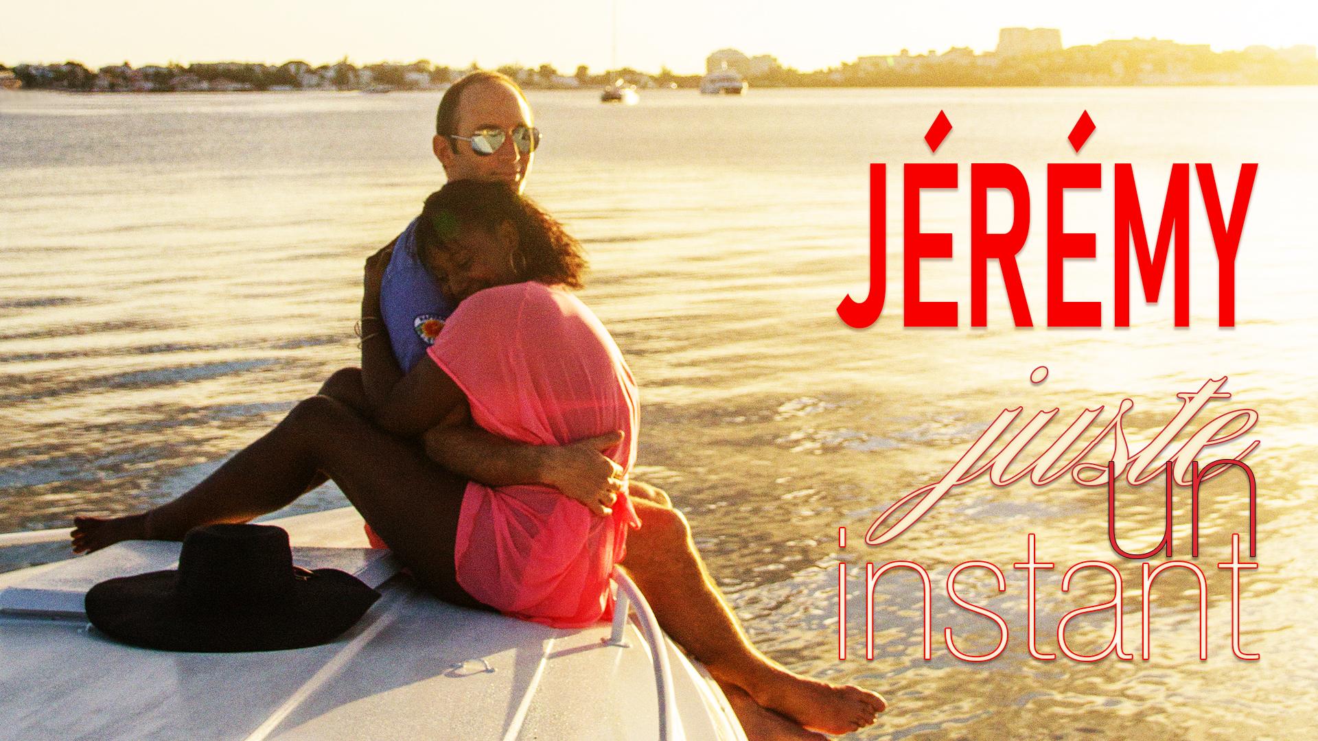"""Jeremy - Visuel """"Juste Un Instant"""" - 16/9"""