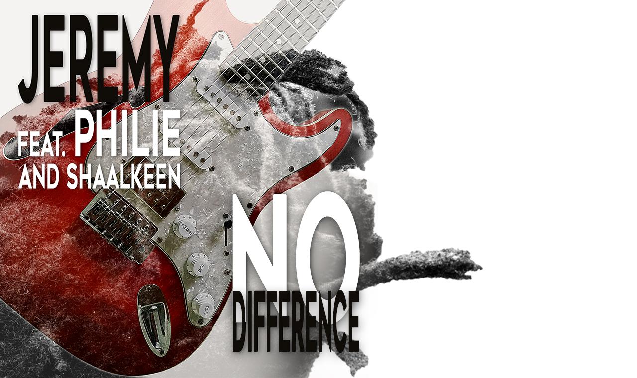 "Jeremy - Visuel Single ""No Difference"" YouTube"