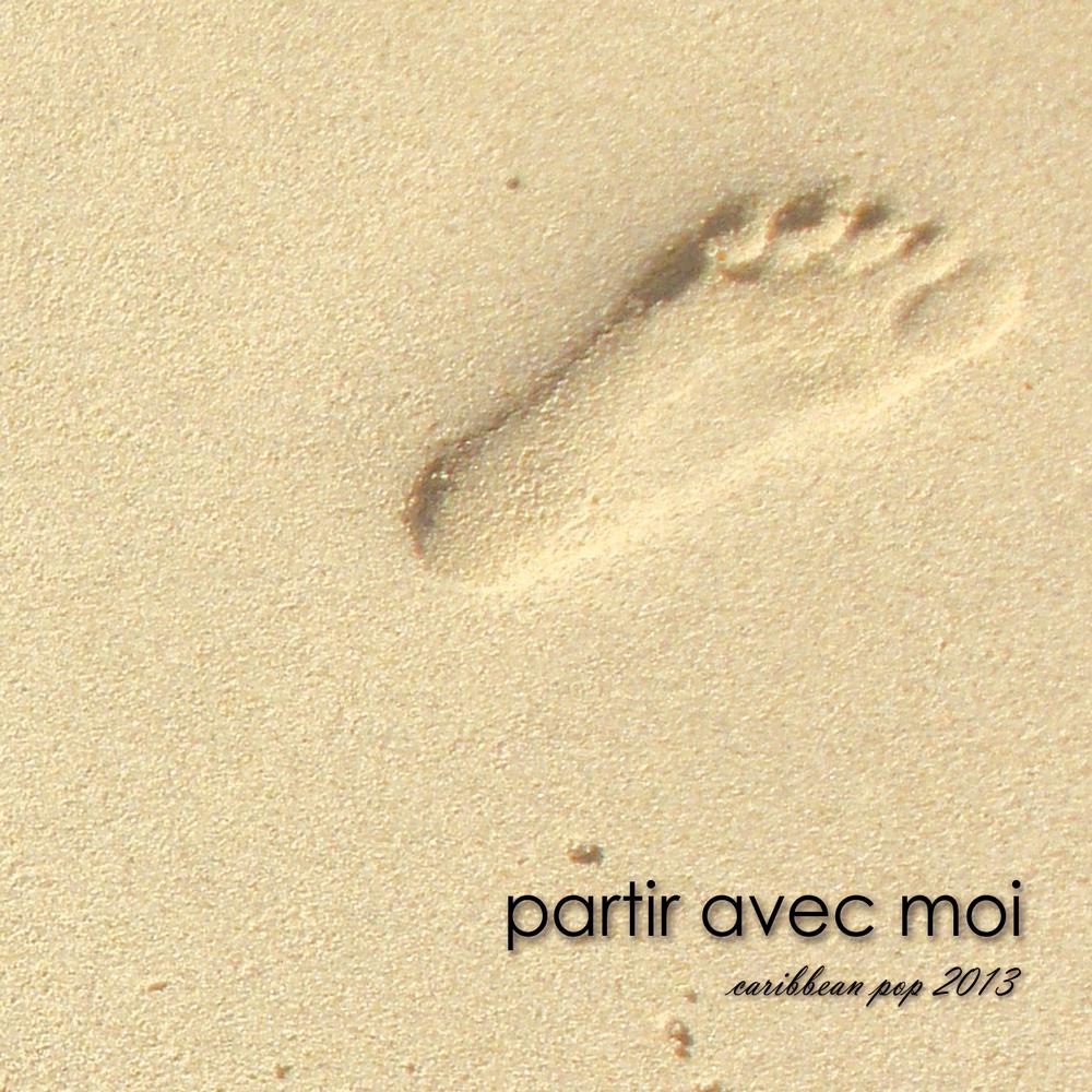 """Visuel Recto Album """"Partir Avec Moi"""" de Jérémie Huot"""